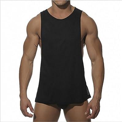 YAKER Muscle Cut Stringer Workout T-shirt Tank