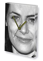 SARAH CLARKE - Canvas Clock (LARGE A3 - Signed by the Artist) #js001