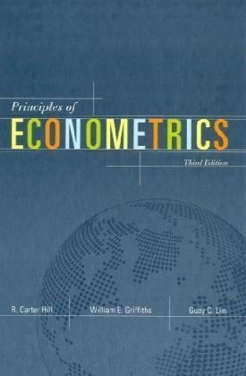 Principles of Econometrics 3rd Ed.