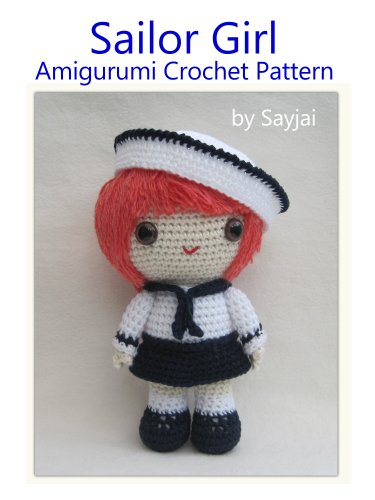 Sailor Girl Amigurumi Crochet Pattern