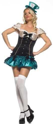 Tea Party Princess Mad Hatter Sexy Costume 83398