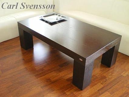 DESIGN COUCHTISCH Tisch V-465 Walnuss / Wenge Carl Svensson NEU