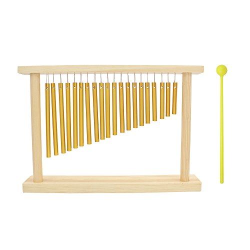 ammoon-20-tone-tisch-top-bar-chimes-20-bars-einreihig-musical-percussion-instrument-mit-holz-stander