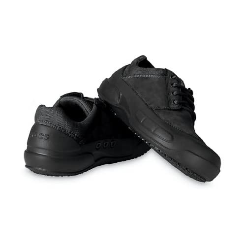 Amazon.com: Crocs - Crocs Velocity Work Shoes - Black/Black