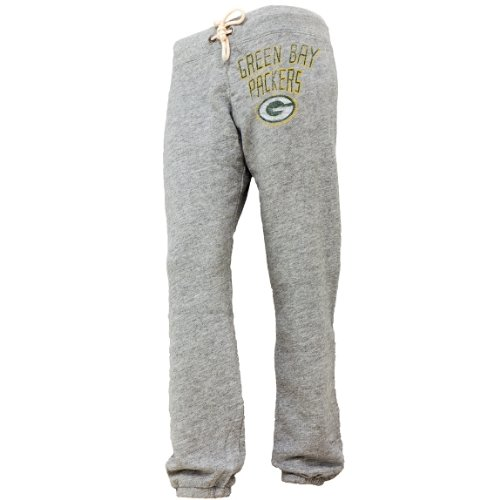 Green Bay Packers - Womens Sunday Juniors Sweatpants Small Grey at Amazon.com