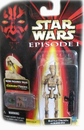 Star Wars Episode 1 Dirty Battle Droid Action Figure