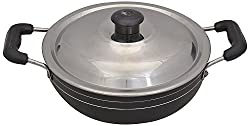 Tosaa Non-Stick Kadhai with Lid , 18cm