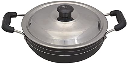 Tosaa-KD10-Non-Stick-Kadhai-With-Lid-(1.25-L)