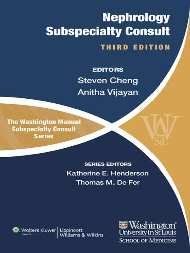 Steven Cheng - The Washington Manual of Nephrology Subspecialty Consult