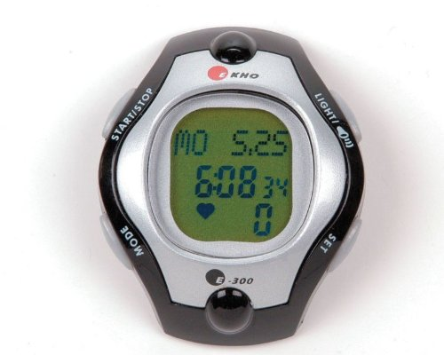 Cheap EKHO E300 Heart Rate Monitor with Chest Strap (B0062TNTMY)