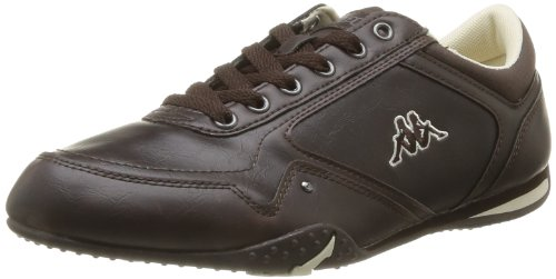Kappa Men's Styko Man Trainers Brown Marron (Dk Brown/Off White) 8 (42 EU)