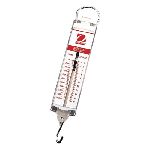 Ohaus Pull-Type Hanging Spring Scales, 2000g X 50g,