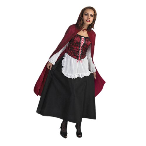 Red Riding Hood Costume Red Cape Fairy Tale Halloween