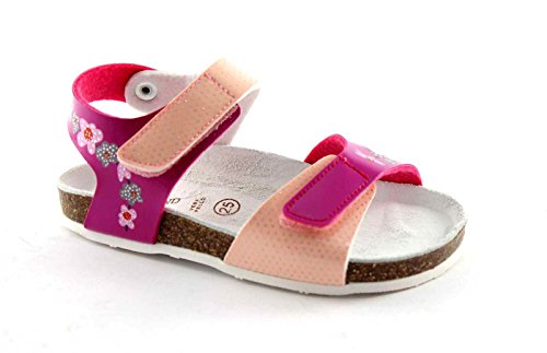 GRUNLAND DEHA SB0441 25/30 rosa sandalo bambina strappi 27