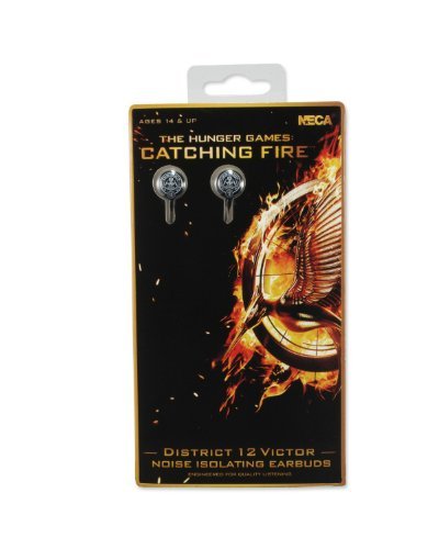 Neca The Hunger Games: Catching Fire District 12 Victor Earbuds