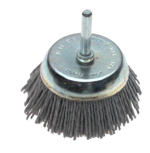Dico 541 774 21 2 Nyalox Cup Brush 21 2 Inch Grey 80 Grit