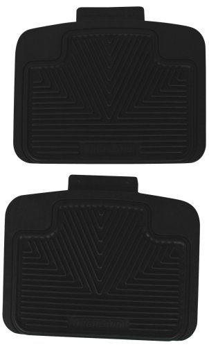 Highland 4603100 All-Weather Black Back Seat Floor Mat front-68982