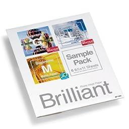 Brilliant Supreme Ultimate Paper Sampler Pack