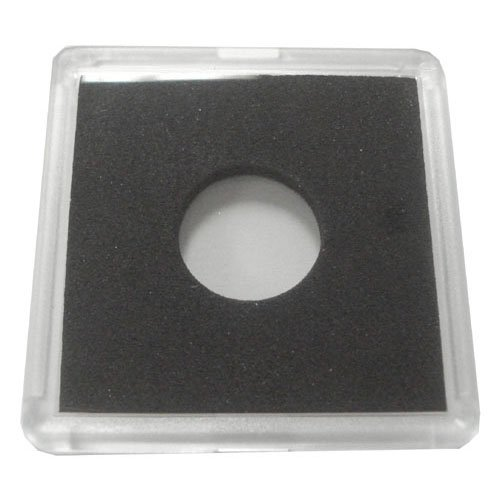 2x2 Plastic Coin Holder with Black Insert - Dime (25 Holders) - 1
