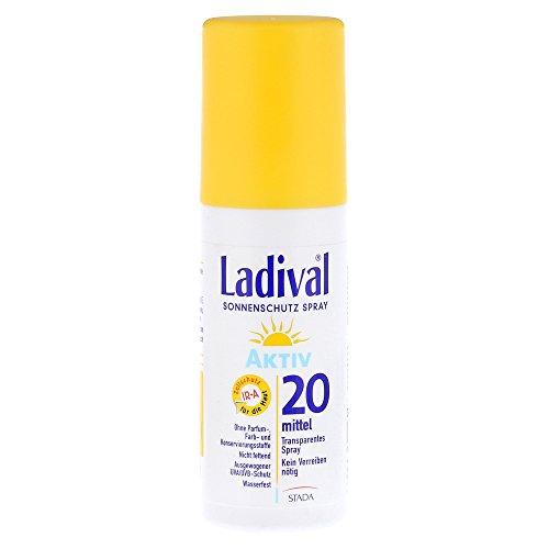 LADIVAL Sonnenschutzspray LSF 20, 150 ml