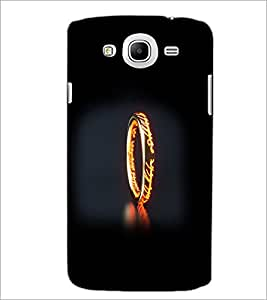 PrintDhaba Ring D-2355 Back Case Cover for SAMSUNG GALAXY MEGA 5.8 (Multi-Coloured)