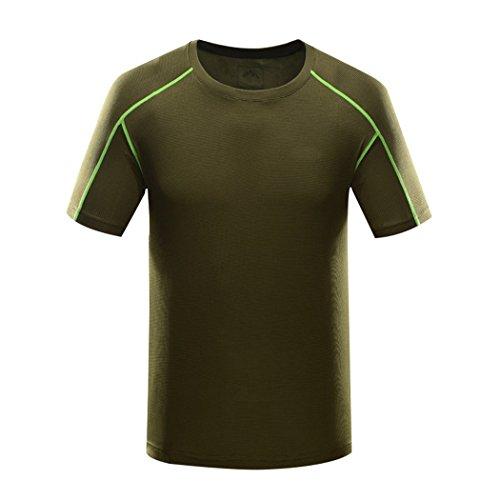 Kool volf men 39 s breathable sport t shirts for Sports shirts near me