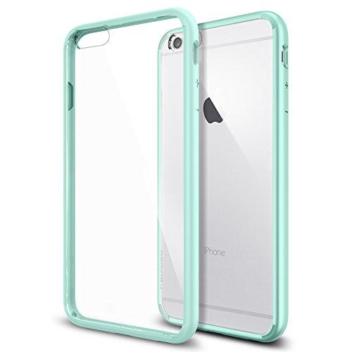 iPhone 6 Plus ケース Spigen [ クリア バンパー] ウルトラ・ハイブリッド Apple iPhone (5.5) (国内正規品) (ミントSGP11052)