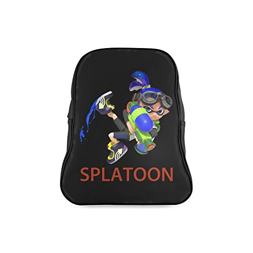 LJSWG Classic Cool Splatoon Game Children School High-grade PU Leather Backpack Bag Shoulder Bag (Xbox One Kirby compare prices)