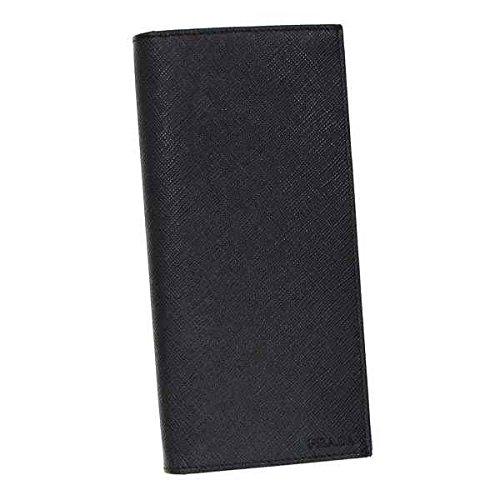 PRADA プラダ 長財布 ブラック 2MV836 [並行輸入品]
