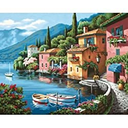 LAKESIDE VILLAGE PAINT BY NUMBER