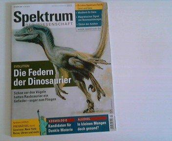 Spektrum der Wissenschaft Heft Oktober 2003 - Die Federn der Dinosaurier