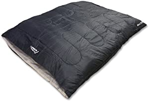 Andes Alma 250 2 Season Double Camping Sleeping Bag Black