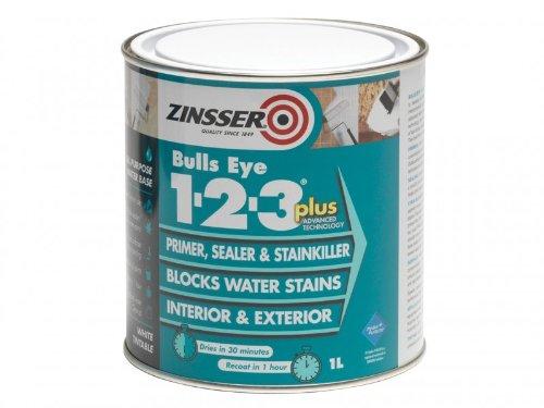 zinsser-zinbe123p1l-1-litre-123-bulls-eye-plus-primer-sealer-paint