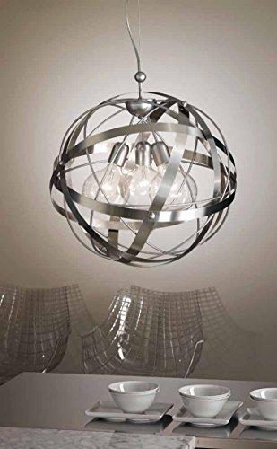 LAMPADARIO A SOSPENSIONE MODERNO 100%MADE IN ITALY MODELLO ASTER GIBAS