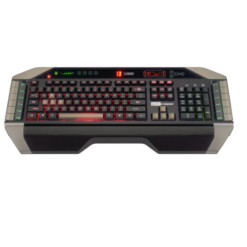 Cyborg Gaming Keyboard with Tri-Color Backlighting