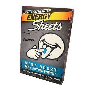 Feuilles - Bandes d'énergie extra-Force Mint