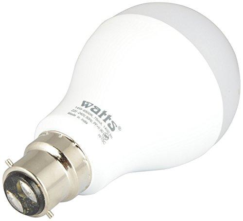 Watts-14W-B22-LED-Bulb-(White)