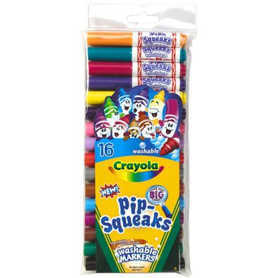 Crayola 16-count Pip-squeaks Markers