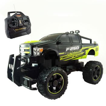 Mean Machines 1:10 F-250 Super Duty Truck, Black