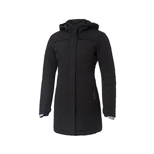 Tucano Urbano Brigitte Barbet - traspirante, antivento e impermeabile 3/4 lunghezza giacca da donna imbottita, Nero, M