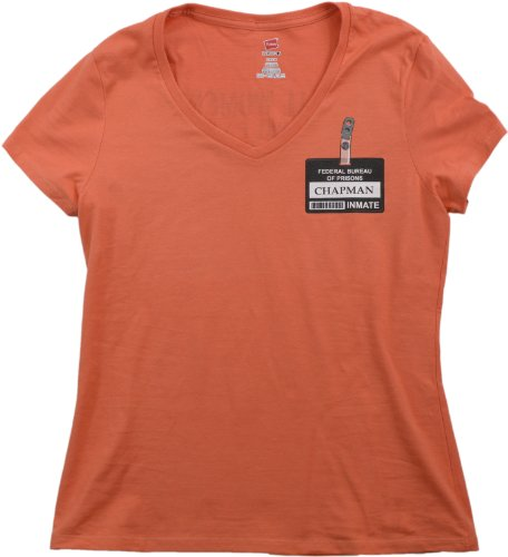 Litchfield Women's Correctional Facility | TV Prison Costume Ladies V-neck Shirt