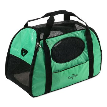 Gen7Pets Carry-Me Fashion Pet Carrier, Large, Spring Green