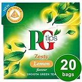 PG tips Lemon Green Tea 20s Pyramid Teabags 20 per pack