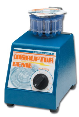Scientific Industries SI-D237 60Hz, 120V Cell Disruptor Genie With 2ml Screw-Cap Tube