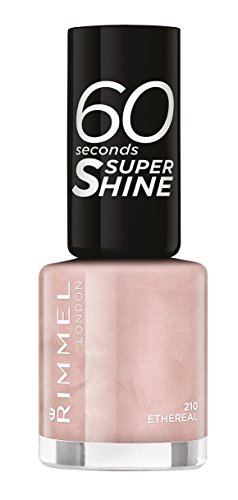 Rimmel London - 60 Seconds Supershine, Smalto per unghie ultra brillante, N. 210 Etheral, 8 ml