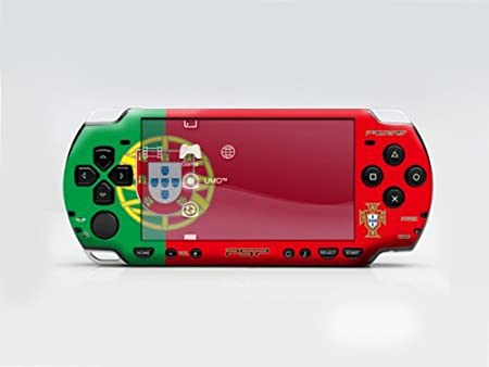 2010 FIFA World Cup for Portugal PSP (Slim) Dual Colored Skin Sticker, PSP 2000