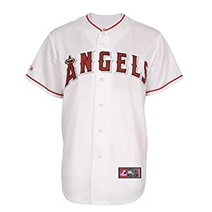 MLB Los Angeles Angels Home Replica Jersey, White by Majestic