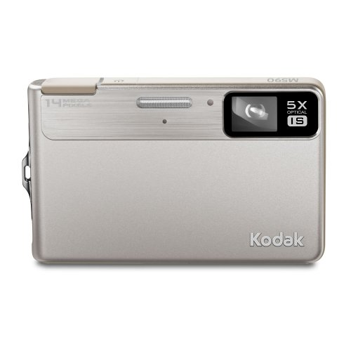 Kodak EasyShare M590 Digital Camera - Silver