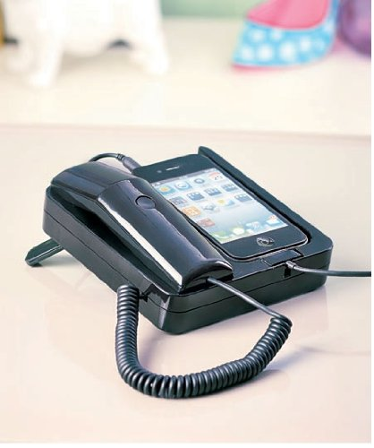 Retro Phone Handset And Dock Stand Brand New!