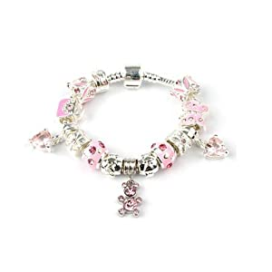 bling rocks childrens fairytale princess silver and pink